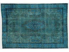 Turquoise Overdye Rug OD1903