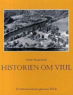 """""""Historien om Viul - Et industrisamfunn gjennom 350 år"""" av Grete Borgersrud (ISBN: Om, Books, Libros, Book, Book Illustrations, Libri"""
