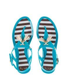Hamptons Jelly Sandals | Products | Henri Bendel