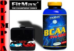 79,80 zł Fitmax bcaa pro4200 -240 tab   pillbox aminokwasy