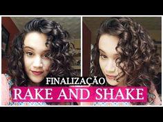 FINALIZAÇÃO RAKE AND SHAKE - CABELO CACHEADO/ONDULADO - YouTube