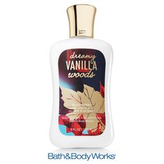 NEW Dreamy Vanilla Woods Body Lotion — nourish your skin with an irresistible blend of creamy vanilla, white orchid and saffron woods! ♥ #LUVBBW