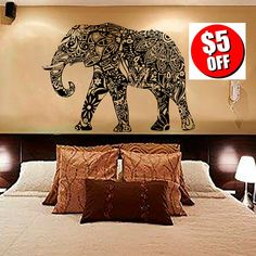 Products Search Yoga Studio Decor, Indian Home Interior, Bedroom Decor, Wall Decor, Removable Wall Stickers, Indian Patterns, Laminate Flooring, Wall Murals, Moose Art