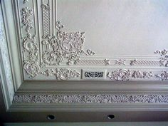 Salon ceiling fragment by Renaissance Ornamental