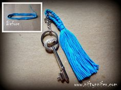 Easy Keychain Tassel