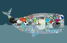 the ocean, junk food looks a bit different trashIn the ocean, junk food looks a bit different trash Pollution of Seawater Pollution of Seawater Plastic Ocean Pollution Ocean Pollution, Plastic Pollution, Ocean Projects, Art Projects, Solar Light Crafts, Save Our Oceans, Trash Art, Whale Art, Plastic Art