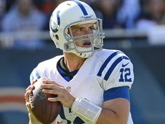 """Beginner's Luck won't deter Colts rookie"" USA Today (September 15, 2012)"