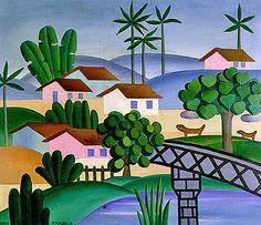 Paisagem, 1931 / Tarsila do Amaral