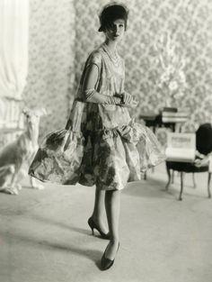 1958, Babydoll dress, Balenciaga