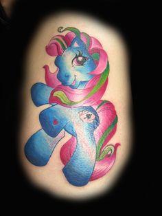 Kristel Oreto - Player the My little Pony Tattoo