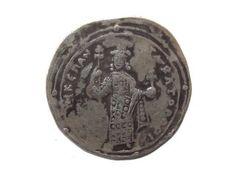 Byzantine Silver Coin Miliaresion Romanus Iii Argyrus 1028 - 1034 Extremely Rare photo