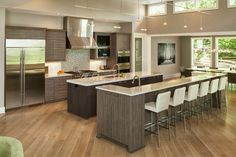 Shades Of Grey   Contemporary   Kitchen   Cincinnati   By Don Justice  Cabinet Makers