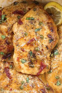 chicken-piccata-olive-garden-copycat-