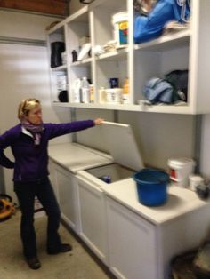 tack room & feed storage  & barn laundry a must!