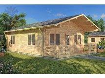 Residential Log Cabin 308 - 5.5m x 9.5m