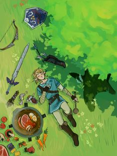 Boys And Girls link botw master sword hylian sheild cooking breath of the wild The Legend Of Zelda, Legend Of Zelda Memes, Legend Of Zelda Breath, Metroid, Nintendo, Game Character, Character Design, Hyrule Warriors, Link Zelda