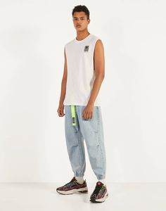 Fitted Joggers, Cargo Jeans, Normcore, Fitness, Style, Fashion, Men's Denim, Colors, Swag