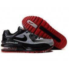 super popular 86290 b2079 Hommes Nike Air Max LTD Noir Grey Rouge Nike Air Max Ltd, Air