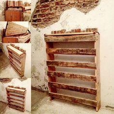 Podría haber sido cualquier cosa, pero al final se convirtió en un humilde Zapatero para la entradita de la casa de @manuelmugica, espero que cumpla su función correctamente. #_hl2_ #instagood #woodworking #furniture #muebles #furnituredesign #interiordesign #fashion #instalike #handmade #artesanía #woodcraft #handcraft #finewoodworking #madeinspain #hechoamano #woodworkforall #pallets #diy