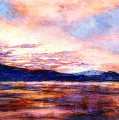 """Portale n.37"", painting by Cristina Sammarco #mediterranean #seascape....#elba #island #mediterraneo #mediterraneanart #cristinasammarco #sea"