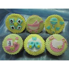 Baby themed tarts. Available online at www.thedottedi.in