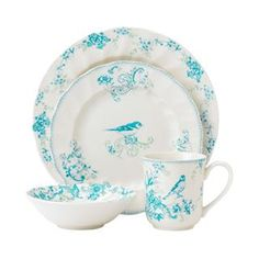 Johnson Brothers A0400102010 Vintage Charm 4 Piece Place Setting