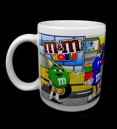 Coffee Mug Cup New York Times Square Mu0026mu0027s Ceramic Collectors Mars. Inc. New  In