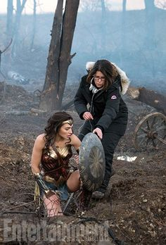 New Wonder Woman Movie Photos Released