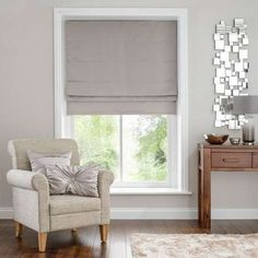 Bring a modern look to your home with this blackout roman blind from Hotel, designed in a soft grey tone and complete with blackout lining to reduce unwanted external light.