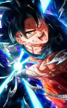 Goku use his Powerful Blast - The Kame Hame Ha Dragon Ball Gt, Son Goku, Wallpaper Do Goku, Wallpaper Art, Dragonball Super, Fanart, Anime Store, Animes Wallpapers, Anime Characters