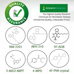 The Highest quality Research Chemicals sold anywhere Online @ http://www.theresearchchemicals.com/