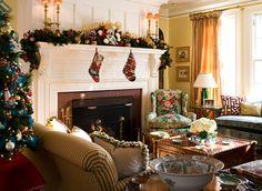 Traditional Home Christmas, Anthony Catalfano, Christmas