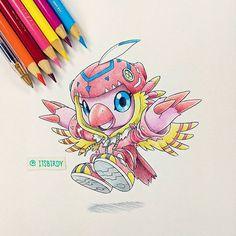 Biyomon is one of the most underrated Digimon partners in Adventures Digimon 02, Digimon Tamers, Digimon Frontier, Gif Pokemon, Cute Pokemon, Gatomon, Digimon Digital Monsters, Samurai Champloo, Digimon Adventure Tri