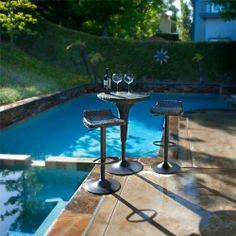 Portofino™ Woven 3pc Bistro Bar Set