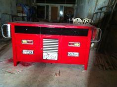 Firetruck dresser!  Sound the sirens a firetruck is coming to a little boys room near you!!!!
