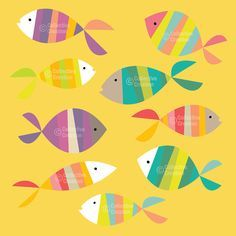 whimsical fish cliparts - Google Search