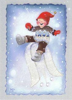 Muuta : Joulukortti Villapaita - Kaarina Toivanen