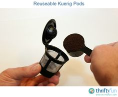 If you like the convenience of using a Kuerig machine but find the pods too pricey or you miss your favorite coffee, there is a solution. We recently found a 4-pack of reuseable pods for $9.99.
