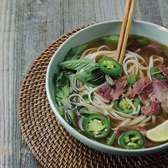 Quick and Simple Vietnamese Pho from 'Broth http://www.tastebook.com/blog/quick-easy-vietnamese-pho-recipe/