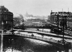 Berlin: Die Weidendammer Brücke kurz vor dem Abriss, 1914