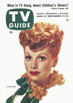 TV Guide, December 10, 1955 - Lucille Ball