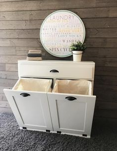 """Exceptional """"laundry room storage diy small"""" information is offered on our internet site. Check it out and you wont be sorry you did. Tilt Out Laundry Hamper, Laundry Basket Dresser, Laundry Basket Organization, Laundry Room Storage, Laundry Room Design, Diy Storage, Storage Baskets, Laundry Sorter, Laundry Baskets"""