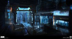 DOOM - First Arena by MeckanicalMind on DeviantArt
