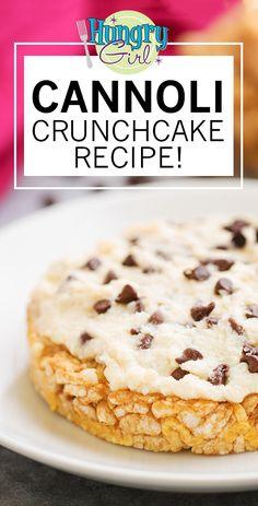 Rice Cake Snacks, Rice Cake Recipes, Ww Recipes, Snack Recipes, Dessert Recipes, Macro Recipes, Recipies, Light Recipes, Low Calorie Desserts