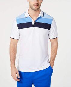 b8347e603 Club Room Men Regular-Fit Stripe Polo