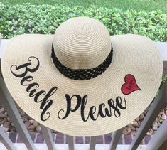 c8bc727983c Spring Break is right around the corner!  etsy shop  EMBROIDERED Custom Sun  Hat