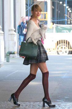 taylor swift skirt and socks