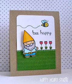Happy Heart Studio: Attack of the Gnomes! Lawn Fawn Gnome Sweet Gnome