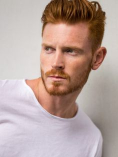 Hot Ginger Men, Ginger Hair, Moustache, Amazing Women, Beautiful Men, Boys Curly Haircuts, Gay Male Models, Red Hair Men, Best Mens Fashion