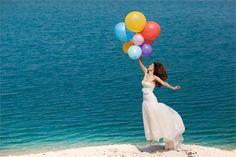Colourful wedding idea